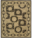RugStudio presents Nourison 3000 3107 Black Hand-Tufted, Best Quality Area Rug
