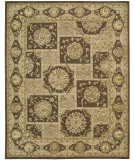 RugStudio presents Nourison 3000 3107 Brown Hand-Tufted, Best Quality Area Rug