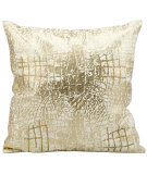 RugStudio presents Kathy Ireland Pillows A3515 Gold