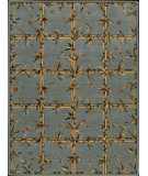 RugStudio presents Nourison Arcadia AA-09 Blue Machine Woven, Better Quality Area Rug