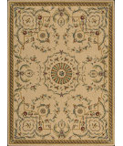 RugStudio presents Nourison Arcadia AA-11 Beige Machine Woven, Better Quality Area Rug