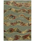 RugStudio presents Nourison Arcadia AA-18 Green Machine Woven, Good Quality Area Rug