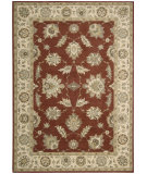 RugStudio presents Nourison Alexandria AL-04 Red Machine Woven, Better Quality Area Rug