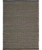 RugStudio presents Rugstudio Sample Sale 25158R Black-Ivory Sisal/Seagrass/Jute Area Rug