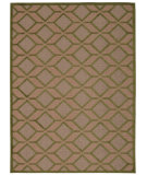 RugStudio presents Nourison Aloha Alh03 Green Flat-Woven Area Rug