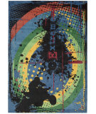 RugStudio presents Nourison Altered States Alt12 Navy Machine Woven, Best Quality Area Rug