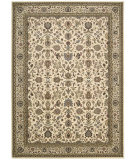 RugStudio presents Kathy Ireland Ki11 Antiquities Ant04 Ivory Machine Woven, Good Quality Area Rug