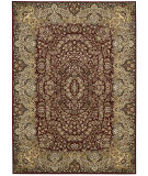 RugStudio presents Kathy Ireland Ki11 Antiquities Ant05 Burgundy Machine Woven, Good Quality Area Rug