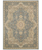 RugStudio presents Kathy Ireland Ki11 Antiquities Ant06 Slate Blue Machine Woven, Good Quality Area Rug