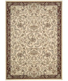 RugStudio presents Kathy Ireland Ki11 Antiquities Ant07 Ivory Machine Woven, Good Quality Area Rug