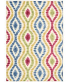 RugStudio presents Nourison Waverly Aura Flora Aof01 Lipstick Machine Woven, Good Quality Area Rug