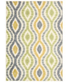 RugStudio presents Nourison Waverly Aura Flora Aof01 Wasabi Machine Woven, Good Quality Area Rug