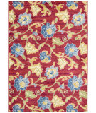RugStudio presents Nourison Waverly Aura Flora Aof02 Lipstick Machine Woven, Good Quality Area Rug