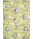 RugStudio presents Nourison Waverly Aura Flora Aof02 Wasabi Machine Woven, Good Quality Area Rug