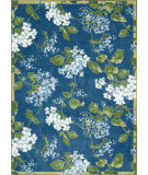 RugStudio presents Nourison Waverly Aura Flora Aof11 Royal Machine Woven, Good Quality Area Rug