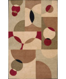 RugStudio presents Nourison Aspects AP-04 Beige Hand-Tufted, Best Quality Area Rug