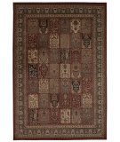 RugStudio presents Nourison Ararat Ara01 Burgundy Machine Woven, Good Quality Area Rug