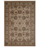 RugStudio presents Nourison Ararat Ara03 Ivory Gray Machine Woven, Good Quality Area Rug