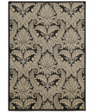 RugStudio presents Nourison Aristo Ars05 Black Beige Machine Woven, Good Quality Area Rug