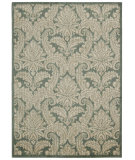 RugStudio presents Nourison Aristo Ars05 Blue/Ivory Machine Woven, Good Quality Area Rug