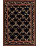 RugStudio presents Nourison Ashton House AS-07 Black Machine Woven, Best Quality Area Rug