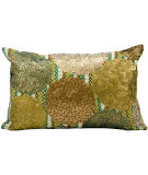 RugStudio presents Kathy Ireland Pillows At656 Green Copper