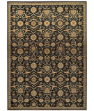 RugStudio presents Kathy Ireland Ki12 Babylon Bab01 Black Machine Woven, Good Quality Area Rug