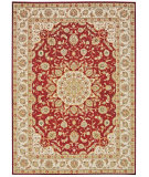 RugStudio presents Kathy Ireland Ki12 Babylon Bab02 Red Machine Woven, Good Quality Area Rug