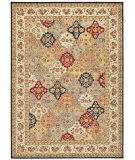 RugStudio presents Kathy Ireland Ki12 Babylon Bab03 Multicolor Machine Woven, Good Quality Area Rug