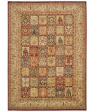 RugStudio presents Kathy Ireland Ki12 Babylon Bab04 Multicolor Machine Woven, Good Quality Area Rug