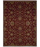 RugStudio presents Kathy Ireland Ki12 Babylon Bab05 Red Machine Woven, Good Quality Area Rug