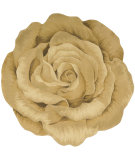 RugStudio presents Barclay Butera Bloom Bm10 Gold Hand-Tufted, Good Quality Area Rug