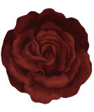 RugStudio presents Barclay Butera Bloom Bm10 Red Hand-Tufted, Good Quality Area Rug