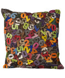 RugStudio presents Nourison Pillows Natural Leather Hide C3500 Multicolor