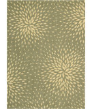 RugStudio presents Nourison Capri CAP-2 Light Green Machine Woven, Best Quality Area Rug