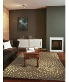 RugStudio presents Nourison Capri CAP-2 Mocha Machine Woven, Best Quality Area Rug