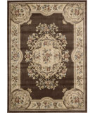 RugStudio presents Nourison Chateau Cht01 Brown Machine Woven, Good Quality Area Rug