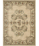 RugStudio presents Nourison Chateau Cht01 Ivory Machine Woven, Good Quality Area Rug