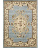 RugStudio presents Nourison Chateau Cht01 Light Blue Machine Woven, Good Quality Area Rug