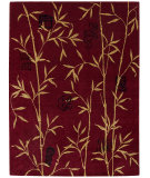RugStudio presents Rugstudio Sample Sale 22940R Red Machine Woven, Better Quality Area Rug