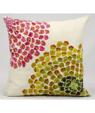 RugStudio presents Nourison Pillows Fantasia Cm672 Ivory