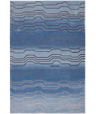 RugStudio presents Nourison Contour CON-04 Azure Hand-Tufted, Better Quality Area Rug