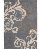 RugStudio presents Nourison Contour CON-09 Silver Hand-Tufted, Good Quality Area Rug