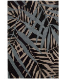 RugStudio presents Nourison Contour CON-14 Black Hand-Tufted, Better Quality Area Rug