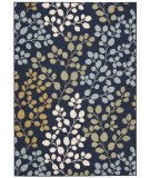 RugStudio presents Nourison Carribean Crb01 Navy Machine Woven, Good Quality Area Rug