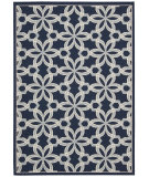 RugStudio presents Nourison Carribean Crb05 Navy Machine Woven, Good Quality Area Rug