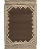 RugStudio presents Nourison Dakota DA-02 Brown Flat-Woven Area Rug