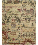 RugStudio presents Nourison Dune Dun01 Earth Hand-Knotted, Good Quality Area Rug