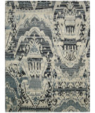RugStudio presents Nourison Dune Dun01 Indigo Hand-Knotted, Good Quality Area Rug