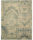 RugStudio presents Nourison Dune Dun01 Sea Hand-Knotted, Good Quality Area Rug